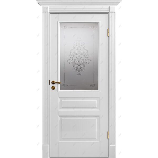 Межкомнатная дверь Палацио-8 luvr Эмаль коллекция Палацио