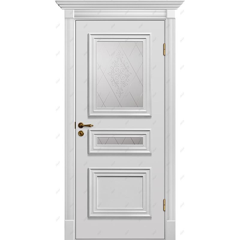 Межкомнатная дверь Прованс-8 Эмаль коллекция Прованс