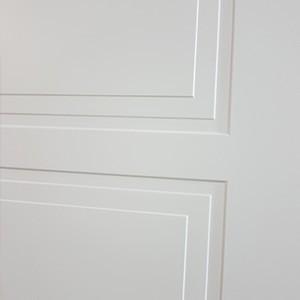 Двери Нео в Минске. Фрезеровка полотна.