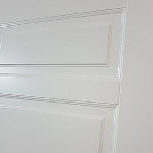 Двери Палацио в Минске. Фрезеровка полотна.