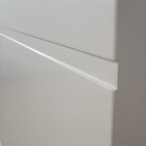 Двери Эмаль с прямоугольной фрезеровкой