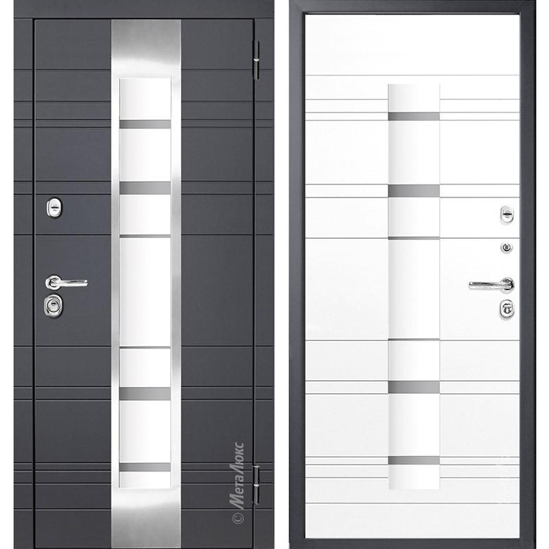 Входные двери с Терморазрывом Металюкс М66/1 - серия Элит в фирменном салоне в Минске, ул. Мазурова, 1 (2 этаж).