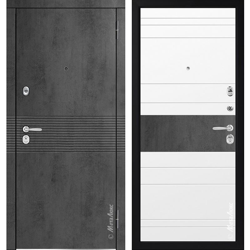 Входная дверь Металюкс М714 коллекция Статус