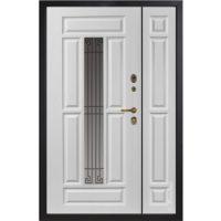 Входная полуторная дверь Металюкс СМ862/1. коллекция Статус