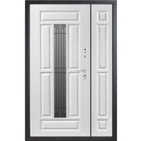 Входная полуторная дверь Металюкс СМ862/3. коллекция Статус