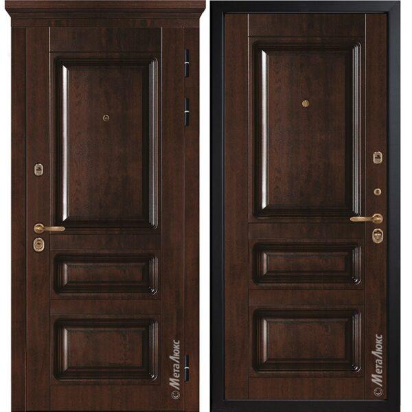 Входная дверь Металюкс М85/10 коллекция БУНКЕР