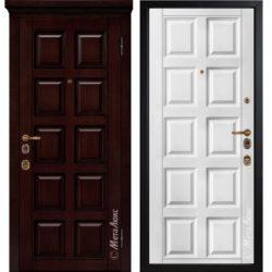 Входная дверь Металюкс М1700 Е2 коллекция ArtWood