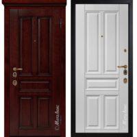 Входная дверь Металюкс М1704/19 коллекция ArtWood