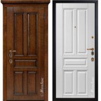 Входная дверь Металюкс М1704/3 Е2 коллекция ArtWood