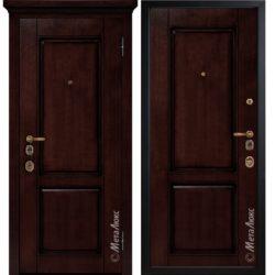 Входная дверь Металюкс М1706/8 коллекция ArtWood