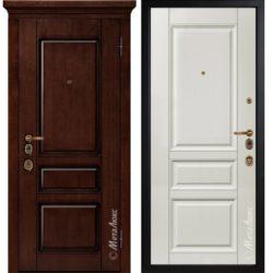 Входная дверь Металюкс М1707/6 Е2 коллекция ArtWood