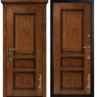 Входная дверь Металюкс М1707/9 коллекция ArtWood