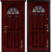 Входная дверь Металюкс М1708/10 коллекция ArtWood