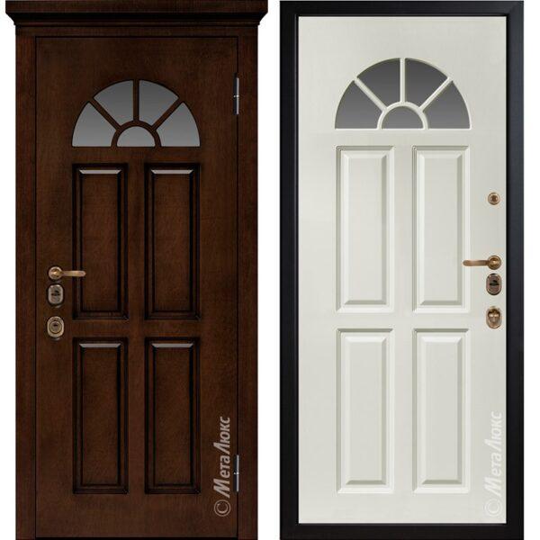 Входная дверь Металюкс М1708/6 Е2 коллекция ArtWood