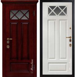 Входная дверь Металюкс М1709/4 Е2 коллекция ArtWood