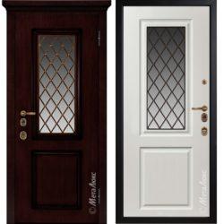 Входная дверь Металюкс М1710/4 Е2 коллекция ArtWood