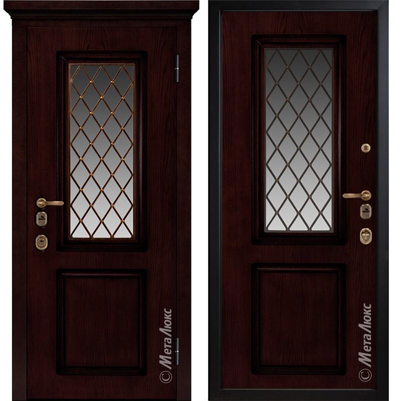Входная дверь Металюкс М1710/8 коллекция ArtWood