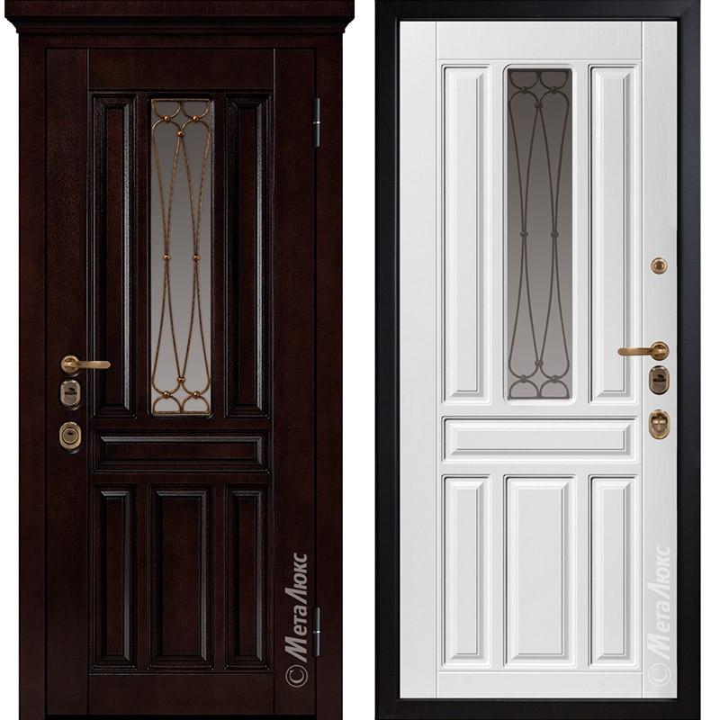 Входная дверь Металюкс М1711/1 Е2 коллекция ArtWood