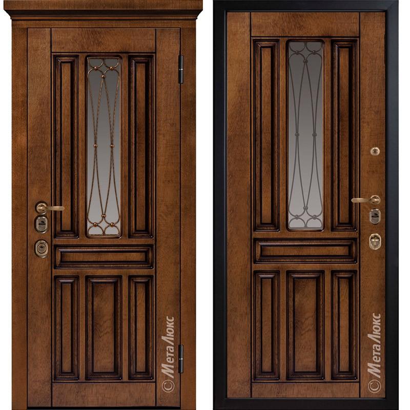 Входная дверь Металюкс М1711/9 коллекция ArtWood