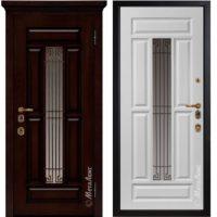 Входная дверь Металюкс М1712/13 коллекция ArtWood