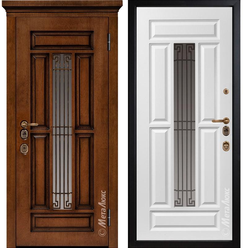 Входная дверь Металюкс М1712/3 Е2 коллекция ArtWood