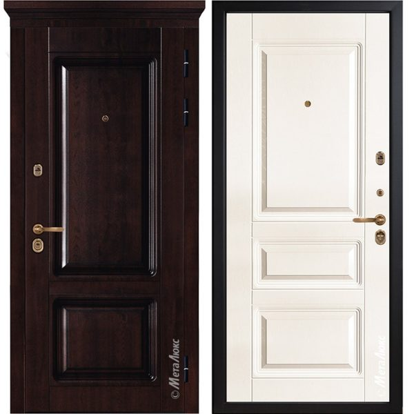 Входная дверь Металюкс М85/14 коллекция БУНКЕР