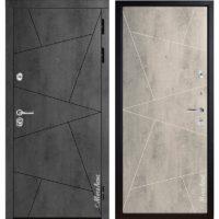 Входная дверь Металюкс М85/9 коллекция БУНКЕР