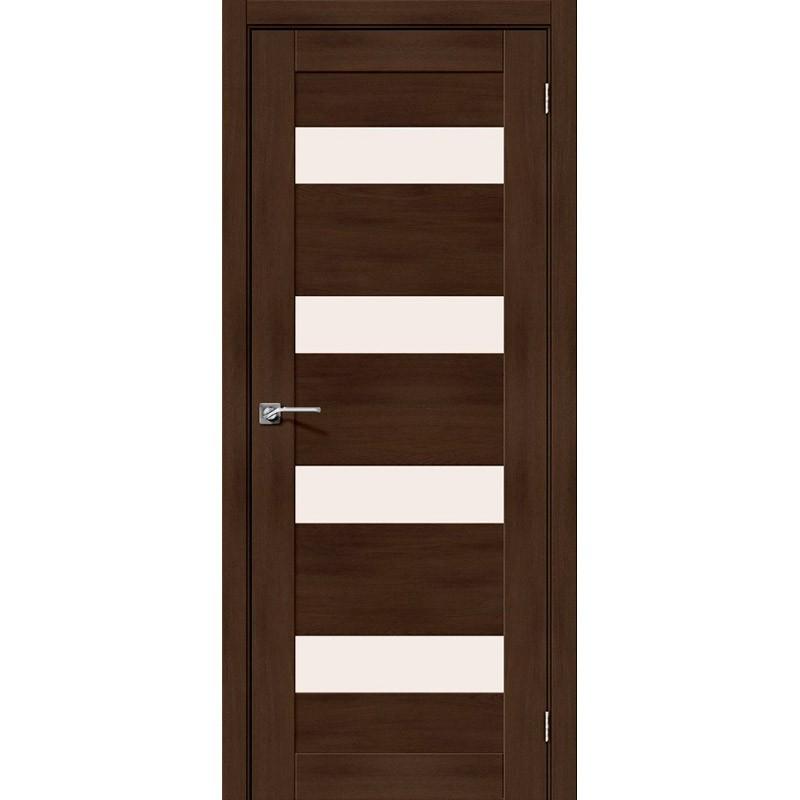 Межкомнатная дверь Легно-23 Dark Oak Экошпон Эльпорта в Минске, ул. Мазурова, 1 (2 этаж)