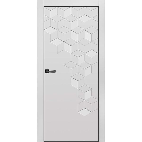 Межкомнатная дверь Новелла-1 Эмаль коллекция Новелла