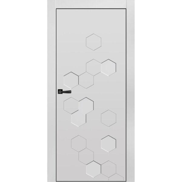 Межкомнатная дверь Новелла-3 Эмаль коллекция Новелла