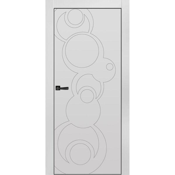Межкомнатная дверь Новелла-8 Эмаль коллекция Новелла